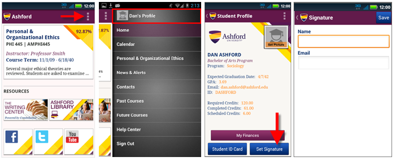 Ashford Mobile App for Android